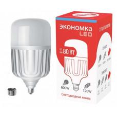 Лампа диодная HP 80Вт Е27/E40 6500К 6700Лм d140x276мм Экономка (20)