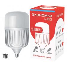 Лампа диодная HP 100Вт Е27/E40 6500К 8300Лм d140x276мм Экономка (8)