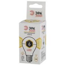 Лампа диодная A60 6Вт Е27 2700К 420Лм Эра Эконом (10)