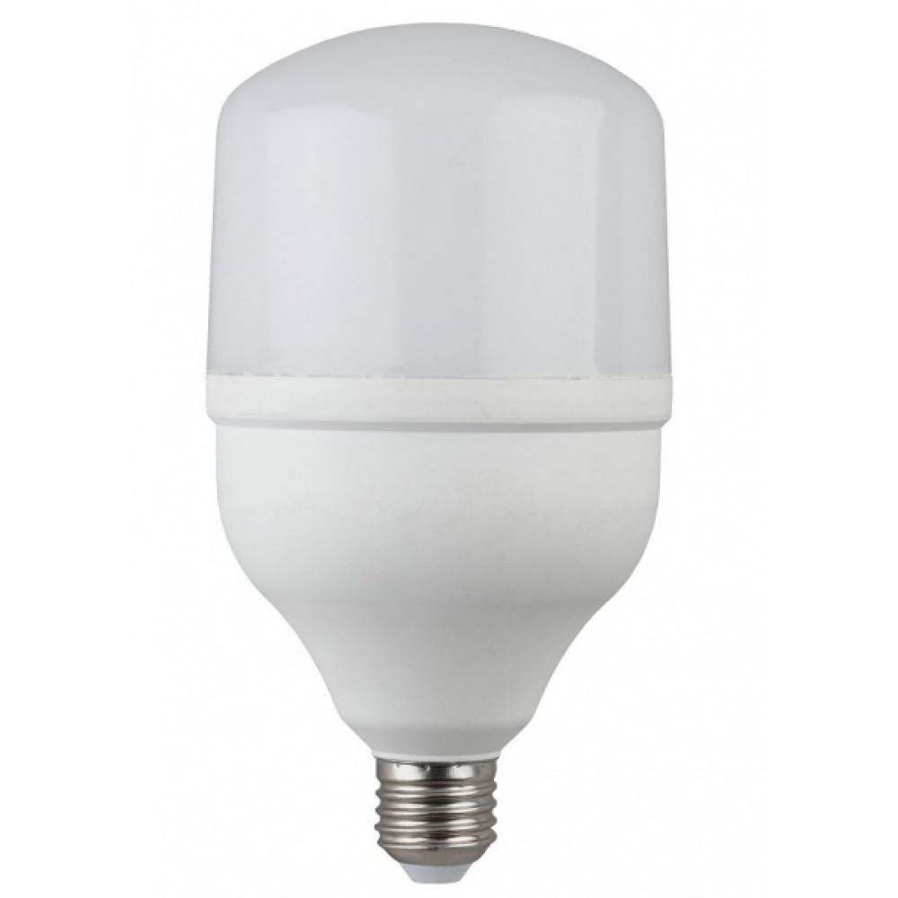 Лампа диодная HP 30Вт Е27 6500К 2400Лм d100x180мм Эра (20)