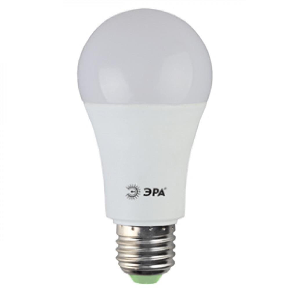 Лампа диодная A60 15Вт Е27 4000К 1200Лм Эра (10)