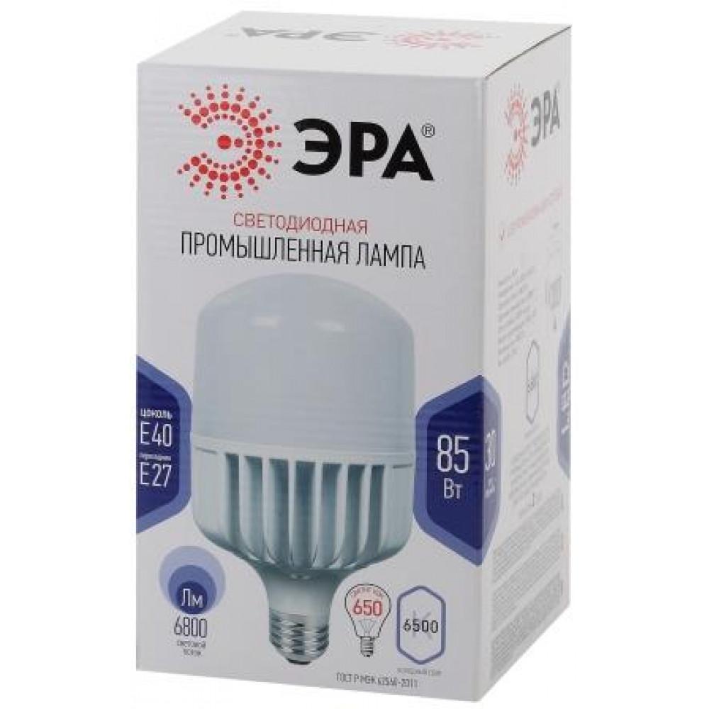 Лампа диодная HP 85Вт Е27/E40 6500К 6800Лм d140x255мм Эра (20)