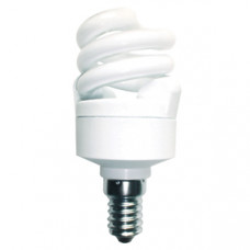 Лампа КЛЛ 7Вт Е14 2700К T2 Эра F-SP (12)