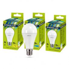 Лампа диодная A65 25Вт Е27 6500К 2425Лм Ergolux (10)