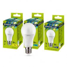 Лампа диодная A60 17Вт Е27 3000К 1480Лм Ergolux (10)