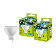 Лампа диодная MR16 GU5.3 7Вт 3000К 460Лм Ergolux (10)
