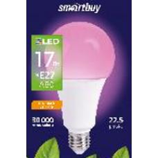 Лампа фито Е27 17Вт А80 Smartbuy (100)