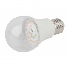Лампа фито Е27 11Вт Ra90 для фотосинтеза Эра полноспектральная
