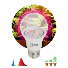 Лампа фито Е27 12Вт 1310К для рассады Эра красно-синий спектр (36)