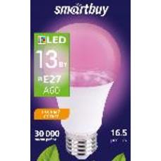 Лампа фито Е27 13Вт А60 Smartbuy (100)