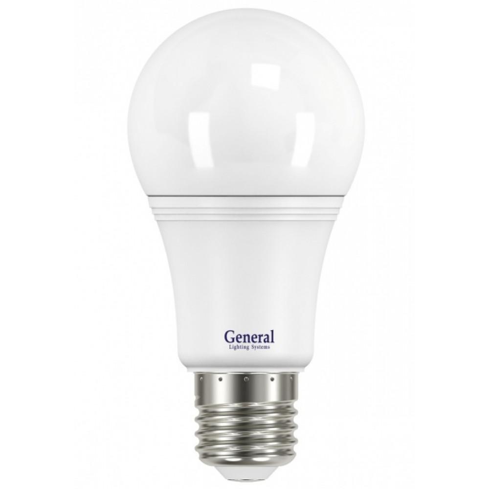 Лампа диодная A60 14Вт Е27 6500К 1090Лм General (10/50)