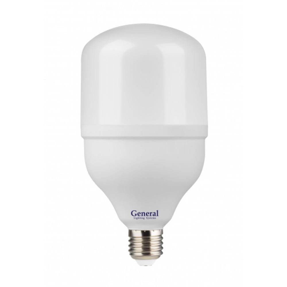 Лампа диодная HP 30Вт Е27 6500К 2150Лм d100x183мм General (30)