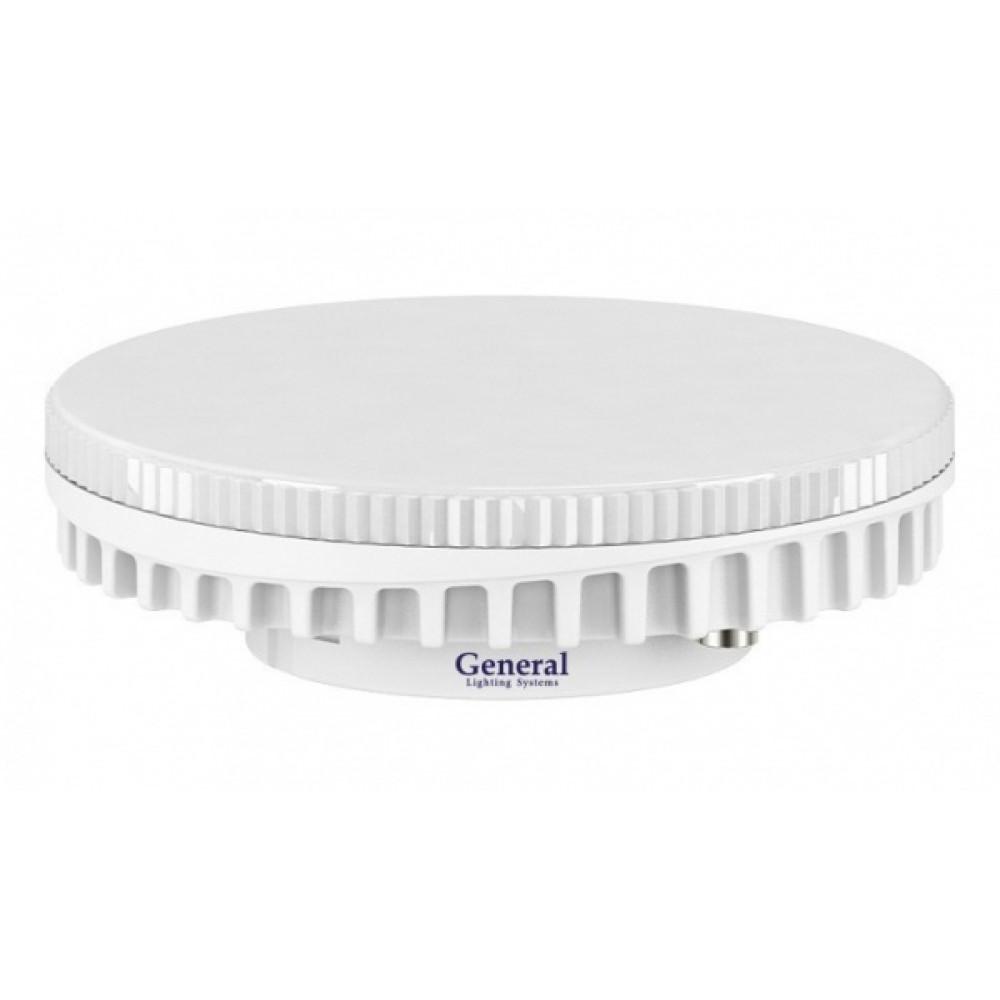 Лампа диодная GX53 9Вт 4500К 640Лм General (10/100)