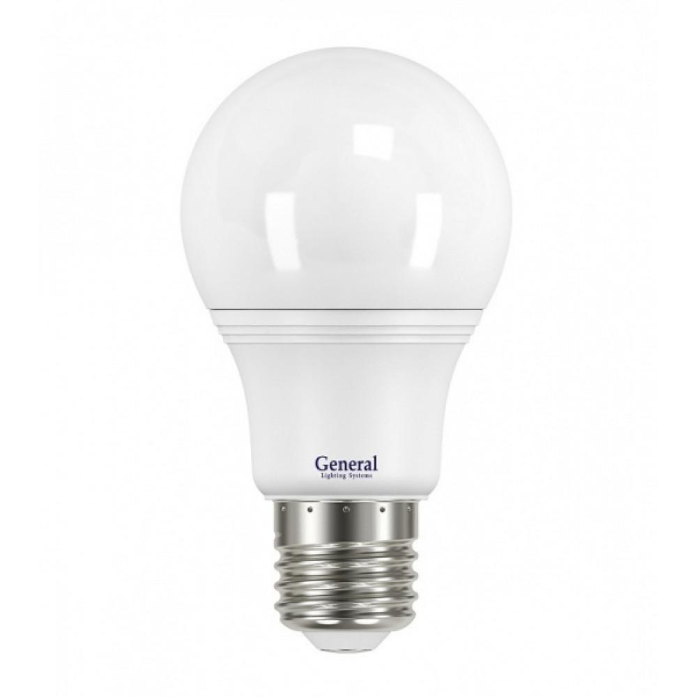 Лампа диодная A60 11Вт Е27 6500К 880Лм General (10/100)