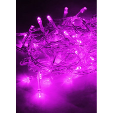 Гирлянда Космос 50LED фиолетовый 6.5м 8 режимов (50/100)