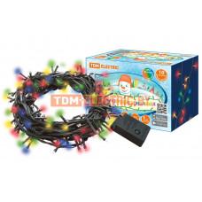 Гирлянда TDM Роса100 100LED 3000К 10м 220В (100)