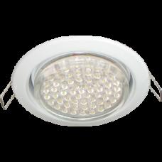Светильник точечный GX53 белый Ecola H4 кd102 2шт/уп (2/100)