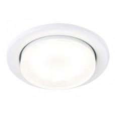 Светильник точечный GX53 белый General H18-W кольцо (100)