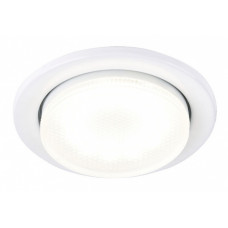 Светильник точечный GX53 белый General H18-W кольцо 10шт (100)