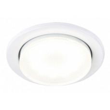 Светильник точечный GX53 белый General H18-W кольцо 2шт (100)