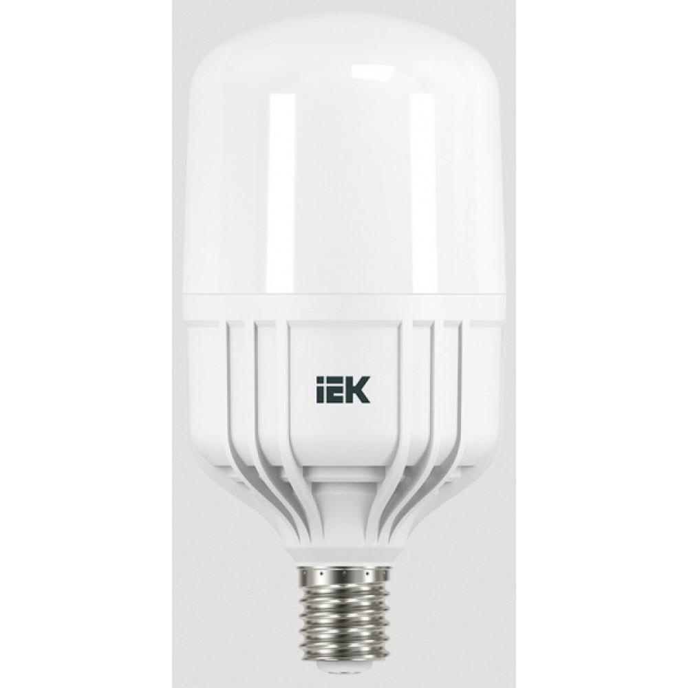Лампа диодная HP 30Вт Е27 4000К 2700Лм d112x196мм IEK (10)