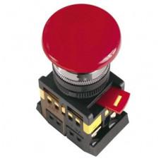 Кнопка IEK AEAL-22 Гриб 1з+1р фиксируемая 220В красный (10)