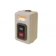 Выключатель кнопочный 2кн TDM ВКН-325 3Р 25А 230/400В IP40 (10)