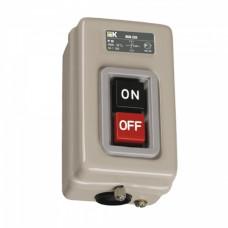 Выключатель кнопочный 2кн IEK ВКИ-230 3Р 16А 230/400В IP40 (10)