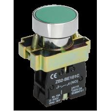 Кнопка IEK LAY-BA31 1з зелёный (20)