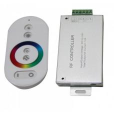 Контроллер RGB 12-24В 18А 216-432Вт IP20 135x75x55мм SWG пульт ДУ белый (50)