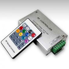 Контроллер RGB 12-24В 18А 216-432Вт IP20 SWG пульт ДУ (50)