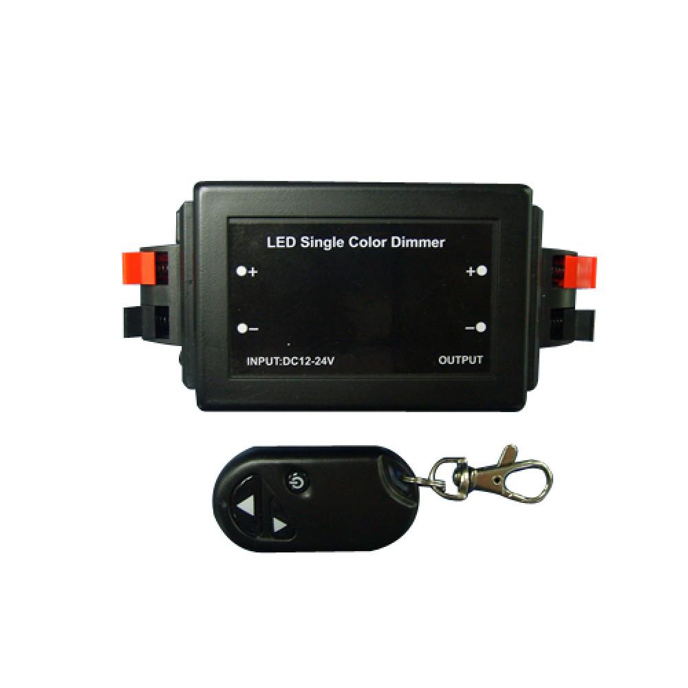 Диммер 12В 8А 96Вт IP20 SWG брелок (50)