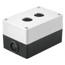 Kорпус TDM КП102 для кнопок 2 места белый (1)