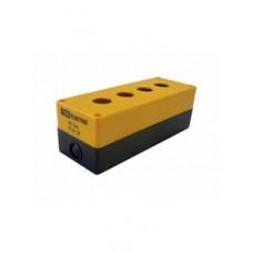 Kорпус TDM КП104 для кнопок 4места желтый (1)
