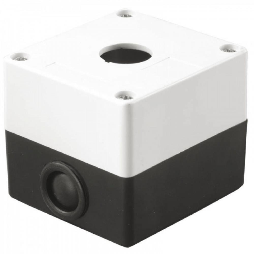 Kорпус IEK КП101 для кнопок 1место белый (10)