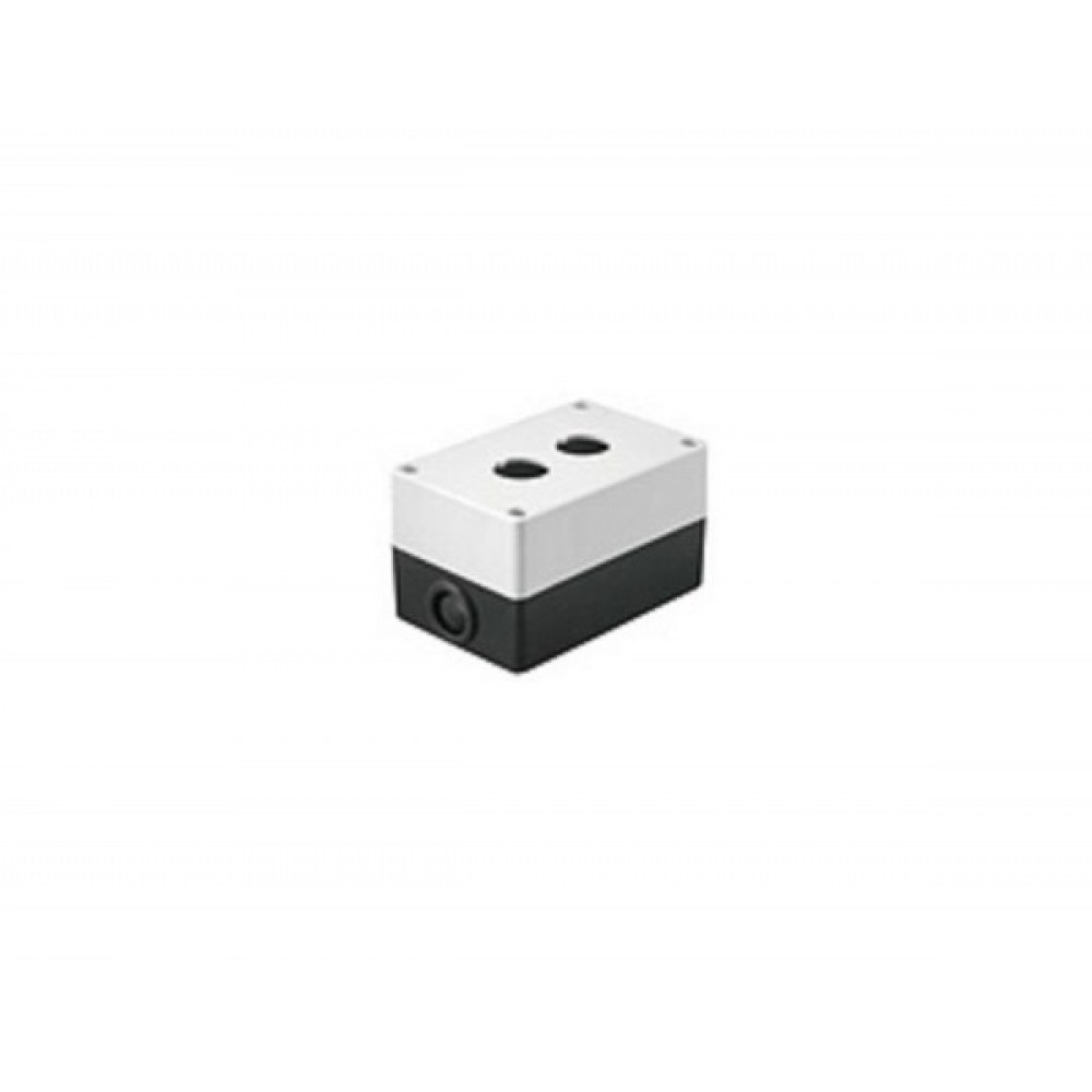 Kорпус IEK КП102 для кнопок 2места белый (10)
