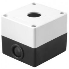 Kорпус TDM КП101 для кнопок 1 место белый (1)