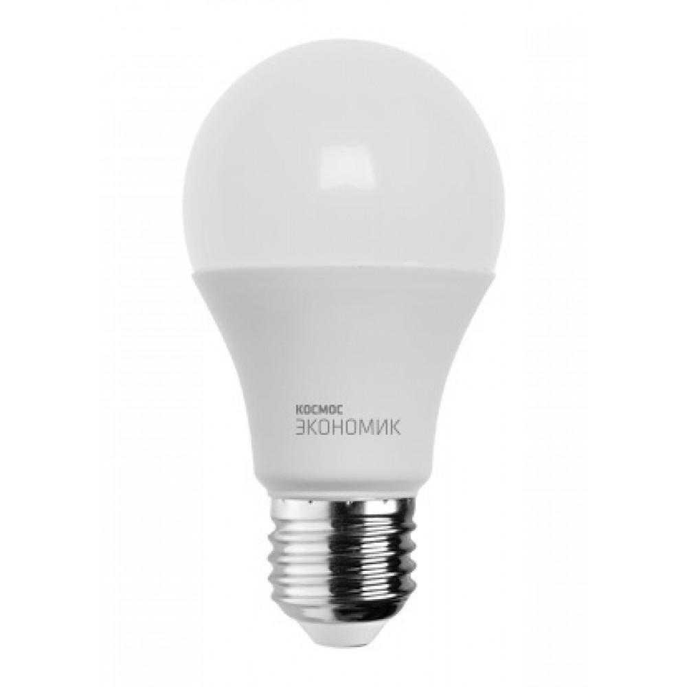 Лампа диодная A60 13Вт Е27 3000К 1150Лм Космос (10)