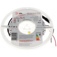 Лента диодная 12В IP20 4.8Вт/м 3000К 3528 60LED/м 5м Эра Eco
