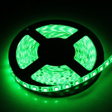 Лента диодная 12В IP20 14.4Вт/м зелёный 5050 60LED/м 5м SWG