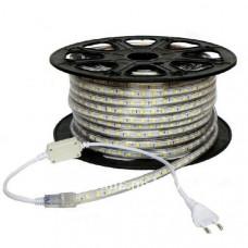 Лента диодная 220В IP68 14.4Вт/м 6500К 5050 60LED/м 50м SWG
