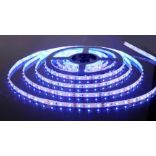 Лента диодная 12В IP20 4.8Вт/м синий 3528 60LED/м 5м Smartbuy (200)