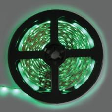 Лента диодная 12В IP20 4.8Вт/м зеленый 60LED/м 5м Ecola 8мм (50)