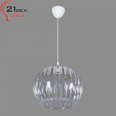 0336/1прозрачный (5) Светильник бытовой потолочный (220V 15W E27)
