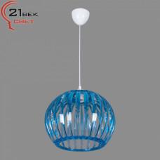 0336/1синий (5) Светильник бытовой потолочный (220V 15W E27)
