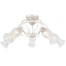 157/5PL E14*40W Antique white Люстра классическая Escada