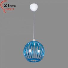0333/1синий (5) Светильник бытовой потолочный (220V 15W E27)
