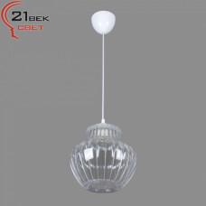 0335/1прозрачный (5) Светильник бытовой потолочный (220V 15W E27)
