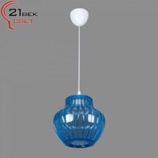0335/1синий (5) Светильник бытовой потолочный (220V 15W E27)