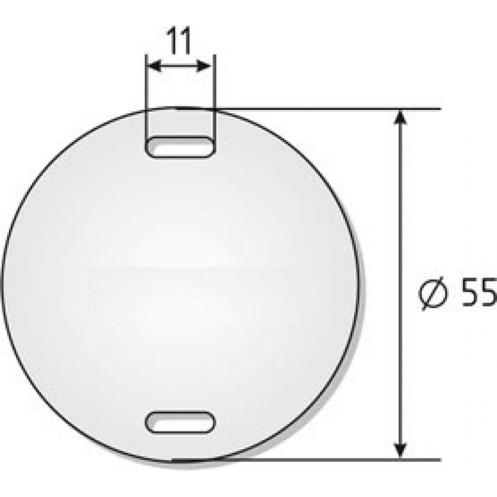 Бирка У-135 (круг) (60)
